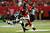 Julio Jones #11 of the Atlanta Falcons tries to avoid the tackle of  Earl Thomas #29 of the Seattle Seahawks during the NFC Divisional Playoff Game at Georgia Dome on January 13, 2013 in Atlanta, Georgia.  (Photo by Kevin C. Cox/Getty Images)