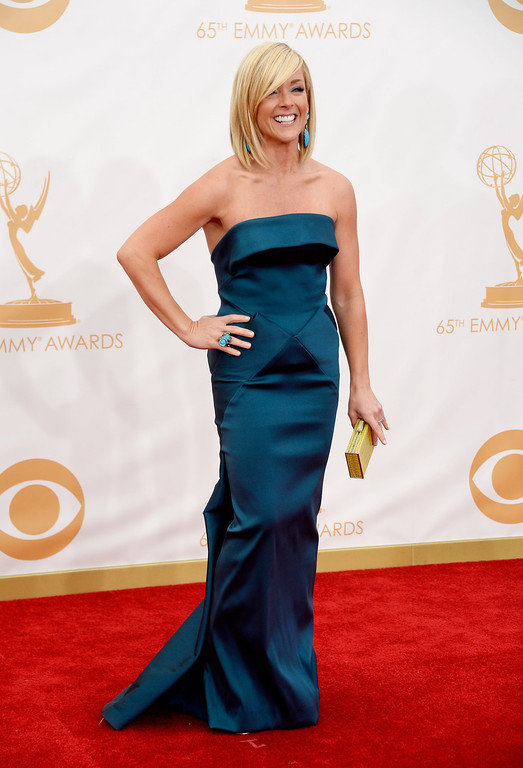 Description of . Actress Actress Jane Krakowski arrives at the 65th Annual Primetime Emmy Awards held at Nokia Theatre L.A. Live on September 22, 2013 in Los Angeles, California.  (Photo by Frazer Harrison/Getty Images)