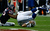 Andrew Luck #12 of the Indianapolis Colts is sacked by Bradie James #53 of the Houston Texans in the first half of the game at Reliant Stadium on December 16, 2012 in Houston, Texas.  (Photo by Scott Halleran/Getty Images)