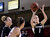 University of Colorado's Lexy Kresl shoots a three-pointer in front of Alison Janecek during a games against the University of Denver on Tuesday, Dec. 11, at the Magnus Arena on the DU campus in Denver.  (Jeremy Papasso/Daily Camera)