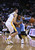 OAKLAND, CA - NOVEMBER 29: Andre Iguodala #9 of the Denver Nuggets drives on Klay Thompson #11 of the Golden State Warriors at Oracle Arena on November 29, 2012 in Oakland, California. (Photo by Ezra Shaw/Getty Images)