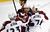 ST PAUL, MN - JANUARY 19:  Milan Hejduk #23 and Steve Downie #27 of the Colorado Avalanche congratulate John Mitchell #7 on a goal during the first period of their season opener against the Minnesota Wild on January 19, 2013 at Xcel Energy Center in St Paul, Minnesota. (Photo by Hannah Foslien/Getty Images)