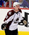 Colorado Avalanche Cody McLeod shows his frustration at the referees after receiving a cut to his eyebrow against the Vancouver Canucks during the third period of their NHL hockey game in Vancouver, British Columbia January 30, 2013.   REUTERS/Ben Nelms