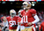 Quarterback Alex Smith #11 of the San Francisco 49ers looks on during warm ups prior to the NFC Divisional Playoff Game against the Green Bay Packers at Candlestick Park on January 12, 2013 in San Francisco, California.  (Photo by Harry How/Getty Images)