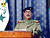 Iraqi President Saddam Hussein appears on Iraqi television Thursday, March 20, 2003, a few hours after the first U.S. cruise missiles and bombs fell on Baghdad. In the nationally televised address, Saddam accused the United States of committing a shameful crime by attacking Iraq. (AP Photo/Iraqi TV via APTN)