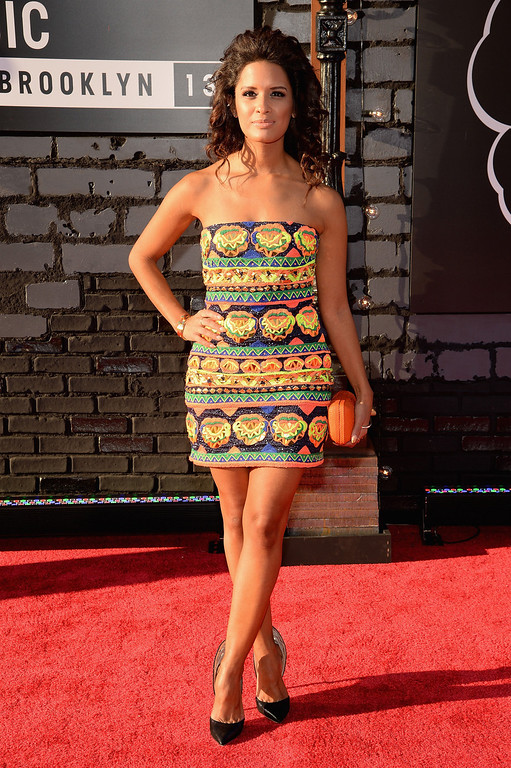 Description of . Rocsi Diaz attends the 2013 MTV Video Music Awards at the Barclays Center on August 25, 2013 in the Brooklyn borough of New York City.  (Photo by Jamie McCarthy/Getty Images for MTV)