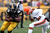 Will Johnson #46 of the Pittsburgh Steelers runs the ball during the game against the Cleveland Browns at Heinz Field on December 30, 2012 in Pittsburgh, Pennsylvania.  (Photo by Karl Walter/Getty Images)