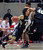 Colorado guard Askia Booker (0) drives around Utah guard Brandon Taylor, center, as Colorado forward Josh Scott (40) sets a screen in the first half during an NCAA college basketball game Saturday, Feb. 2, 2013 in Salt Lake City. Utah defeated Colorado 58-55. (AP Photo/Steve C. Wilson)