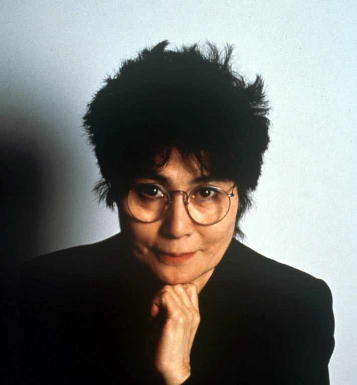 Description of . Yoko Ono is shown in this 1990 photo. (AP Photo)