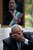 Venezuela's Ambassador to Haiti Pedro Antonio Canino Gonzalez weeps as he speaks about Venezuela's late President Hugo Chavez during a press conference in Petion-Ville, Haiti, Wednesday, March 6, 2013. Some marked Chavez's death with tears; others with cheers. (AP Photo/Dieu Nalio Chery)