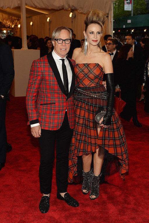 Description of . Tommy Hilfiger and Dee Hilfiger attends the Costume Institute Gala for the