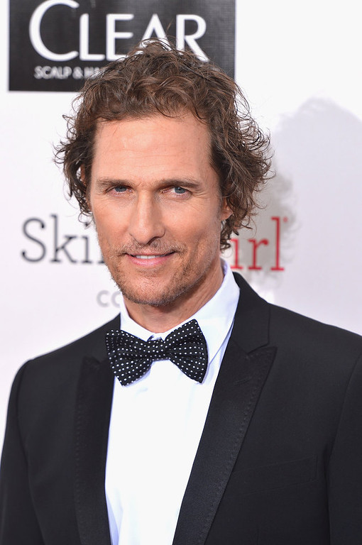 Description of . Actor Matthew McConaughey  arrives at the 18th Annual Critics' Choice Movie Awards at Barker Hangar on January 10, 2013 in Santa Monica, California.  (Photo by Frazer Harrison/Getty Images)