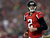 Quarterback Matt Ryan #2 of the Atlanta Falcons reacts in the first quarter while taking on the San Francisco 49ers in the NFC Championship game at the Georgia Dome on January 20, 2013 in Atlanta, Georgia.  (Photo by Mike Ehrmann/Getty Images)
