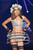 A model walks the runway during the 'Etam Live Lingerie show' 2013 at Bourse du Commerce on February 26, 2013 in Paris, France.  (Photo by Marc Piasecki/Getty Images)