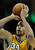 Denver center JaVale McGee (34) concentrated on a free throw in the second half. The Denver Nuggets defeated the San Antonio Spurs 112-106 at the Pepsi Center Tuesday night, December 18, 2012. Karl Gehring/The Denver Post