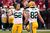 Outside linebacker Clay Matthews #52 of the Green Bay Packers high-fives teammate tight end Ryan Taylor #82 during warm ups prior to the NFC Divisional Playoff Game against the San Francisco 49ers at Candlestick Park on January 12, 2013 in San Francisco, California.  (Photo by Stephen Dunn/Getty Images)