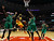 Denver Nuggets' Ty Lawson (2nd L) goes to the basket against the Chicago Bulls' Nate Robinson (L), Carlos Boozer (C), Luol Deng (2nd R) and Jimmy Butler during the first half of their NBA basketball game in Chicago, Illinois, March 18, 2013.  REUTERS/Jim Young