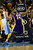Los Angeles Lakers shooting guard Kobe Bryant (24) gets fouled by Denver Nuggets shooting guard Andre Iguodala (9) during the first half at the Pepsi Center on Wednesday, December 26, 2012. AAron Ontiveroz, The Denver Post