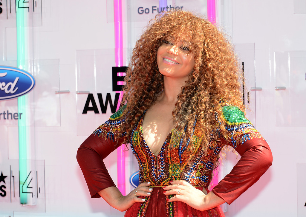 Description of . Actress Nadia Buari attends the BET AWARDS '14 at Nokia Theatre L.A. LIVE on June 29, 2014 in Los Angeles, California.  (Photo by Earl Gibson III/Getty Images for BET)