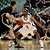 Denver's Jalen Love (3) guards against Texas State's Matt Staff during the second half of a Western Athletic Conference tournament NCAA college basketball game on Thursday, March 14, 2013, in Las Vegas. Texas State won 72-68. (AP Photo/David Becker)