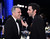 LOS ANGELES, CA - JANUARY 27:  Actors Daniel Day-Lewis (L) and Sacha Baron Cohen attend the 19th Annual Screen Actors Guild Awards cocktail reception at The Shrine Auditorium on January 27, 2013 in Los Angeles, California.  (Photo by Mark Davis/Getty Images)