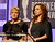 Actresses Amy Poehler and Maya Rudolph speak onstage during the 15th Annual Costume Designers Guild Awards with presenting sponsor Lacoste at The Beverly Hilton Hotel on February 19, 2013 in Beverly Hills, California.  (Photo by Frazer Harrison/Getty Images for CDG)
