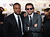 Actors Chris Tucker and Bradley Cooper attend the 18th Annual Critics' Choice Movie Awards held at Barker Hangar on January 10, 2013 in Santa Monica, California.  (Photo by Larry Busacca/Getty Images for BFCA)