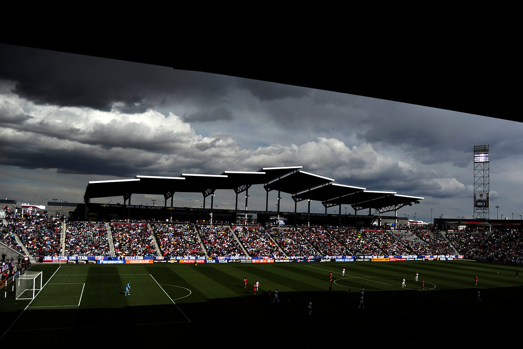 . The U.S.A. plays China during team U.S.A.\'s 2-0 win. Dick\'s Sporting Goods Park on Sunday, April 6, 2014. (Photo by AAron Ontiveroz/The Denver Post)