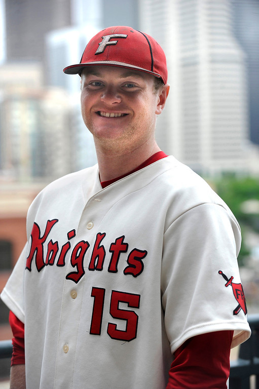 . Jeff Clarke of Fairview High School poses for a portrait at Coors Field in Denver, Colorado on June 8, 2014. (Photo by Seth McConnell/The Denver Post)