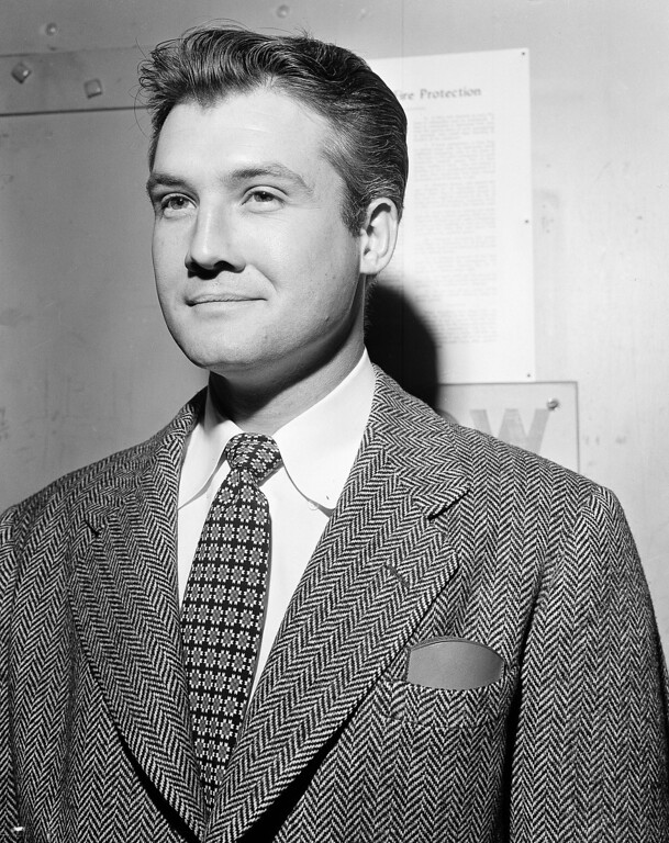 ". Actor George Reeves of  ""Superman\"" fame is shown in this undated photo.  (AP Photo)"