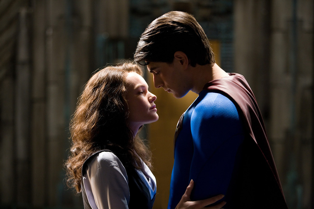 . In this photo provided by Warner Bros. Pictures, following a mysterious absence of several years, Superman (Brandon Routh) comes back to Earth to become the peoples savior once again and reclaim the love of Lois Lane (Kate Bosworth) and battle his longtime nemesis Lex Luthor in \'Superman Returns.\'  (AP Photo/Warner Bros. Pictures/David James)