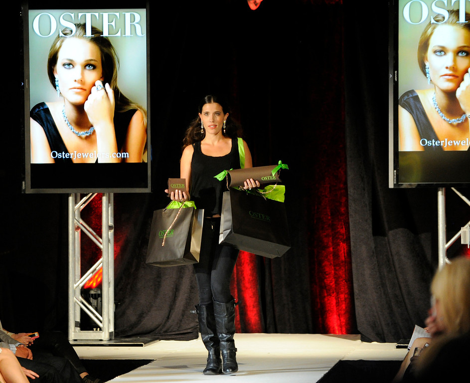 . DENVER, CO - SEPTEMBER 6:     Oster Jewelers  which was a finalist at the Fashion Group International of Denver\'s Rising Star 2013 fashion show on Friday September 6, 2013  at the McNichols Building in Denver. (Photo By Cyrus McCrimmon/The Denver Post )