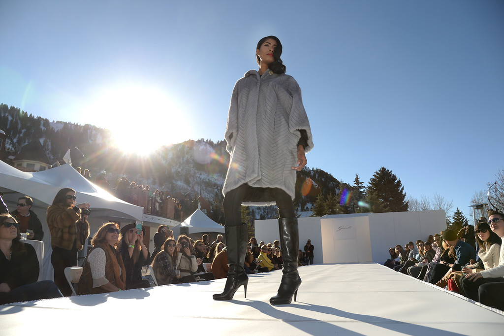 . Gorski. Apres Ski Stage of Aspen International Fashion Week 2014. Aspen Colorado. March 14. 2014. (Photo by Hyoung Chang/The Denver Post)