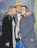 """Jayni Chase, Chevy Chase, and Cydney Cathalene Chase attend """"The Hobbit: An Unexpected Journey"""" New York premiere benefiting AFI at Ziegfeld Theater on December 6, 2012 in New York City.  (Photo by Michael Loccisano/Getty Images)"""