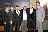 """Martin Freeman, Elijah Wood, Andy Serkis, Sir Peter Jackson, Sir Ian McKellen, and Richard Armitage attend """"The Hobbit: An Unexpected Journey"""" New York premiere benefiting AFI - Red Carpet And Introduction at Ziegfeld Theater on December 6, 2012 in New York City.  (Photo by Michael Loccisano/Getty Images)"""