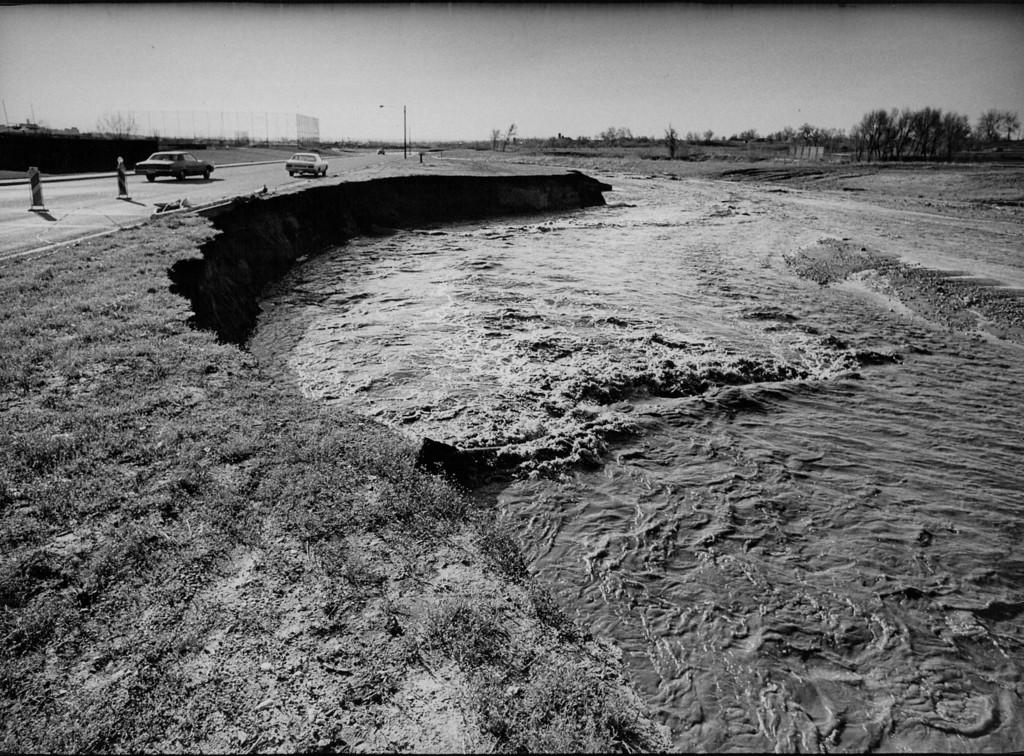 . MAY 9 1973  Floods - Colorado  (Bill Wunsch/ The Denver Post)