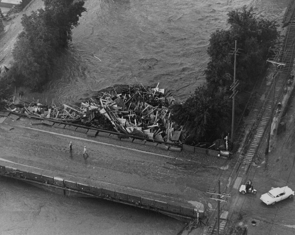 . JUN 17 1965 - Floods, Denver. (Ed Maker/ The Denver Post)
