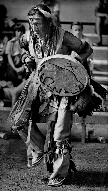. JUL 18 1975. White Buffalo Council of American Indians.  (Ernie Leyba/The Denver Post Archive)