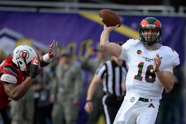 PHOTOS: CSU Rams play Utah Utes in Las Vegas Bowl