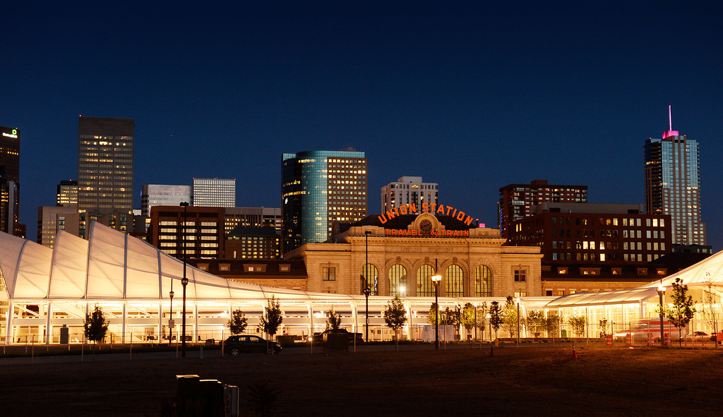 . Denver\'s Union Station is about to reopen with restaurants and a hotel. The space is a downtown transit center, with trains, buses and light rail connections. It was photographed on Monday, June 9, 2014. (Photo by Cyrus McCrimmon/The Denver Post)