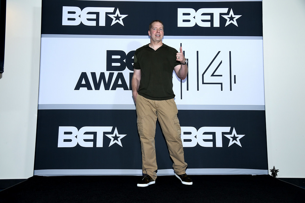 . Actor Gary Owen poses in the press room during the BET AWARDS \'14 at Nokia Theatre L.A. LIVE on June 29, 2014 in Los Angeles, California.  (Photo by Michael Buckner/Getty Images for BET)
