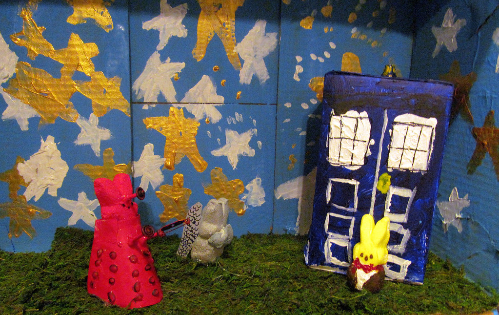 . Doctor Who Peeps.  by Lily Ann Clements, Age 6
