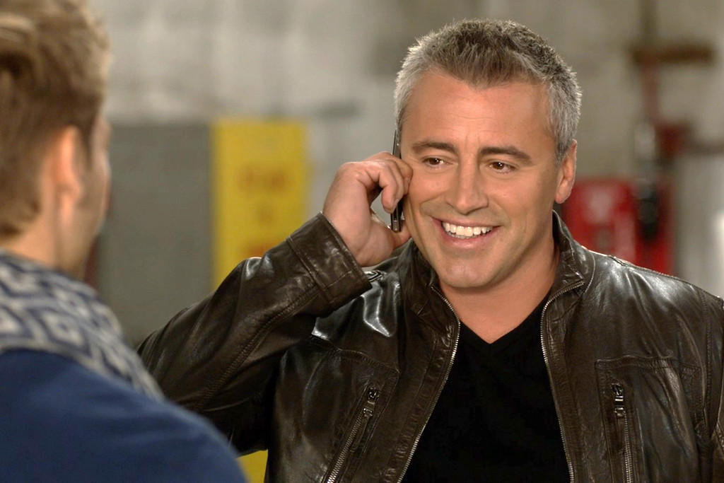 ". This image released by Showtime shows Matt LeBlanc in a scene from ""Episodes.\"" LeBlanc was nominated for an Emmy Award for best actor in a comedy on Thursday, July 10, 2014. The 66th Primetime Emmy Awards will be presented Aug. 25 at the Nokia Theatre in Los Angeles. (AP Photo/Showtime)"