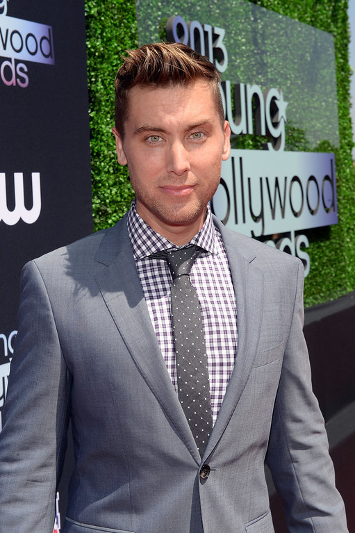 . Recording Artist Lance Bass attends CW Network\'s 2013 2013 Young Hollywood Awards presented by Crest 3D White and SodaStream held at The Broad Stage on August 1, 2013 in Santa Monica, California.  (Photo by Michael Buckner/Getty Images for PMC)