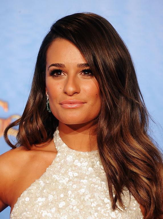 . Presenter Lea Michele poses in the press room during the 70th Annual Golden Globe Awards held at The Beverly Hilton Hotel on January 13, 2013 in Beverly Hills, California.  (Photo by Kevin Winter/Getty Images)