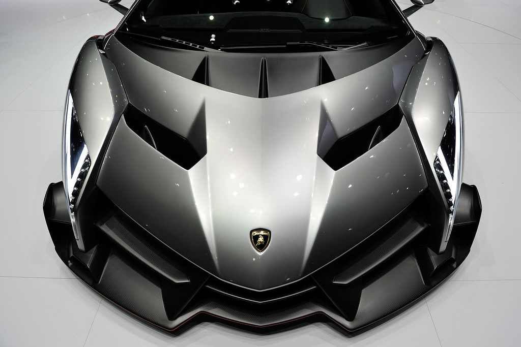 . The new Lamborghini Venenos is seen during the 83rd Geneva Motor Show on March 5, 2013 in Geneva, Switzerland.   (Photo by Harold Cunningham/Getty Images)