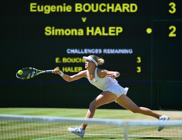 PHOTOS: Wimbledon Women's Singles Semifinals – July 3, 2014