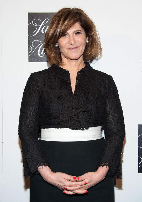 """. Amy Pascal arrives at \""""An Evening\"""" Benefiting The L.A. Gay & Lesbian Center at the Beverly Wilshire Four Seasons Hotel on March 21, 2013 in Beverly Hills, California. (Photo by Valerie Macon/Getty Images)"""