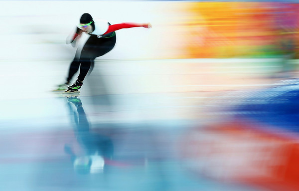 PHOTOS: Women's 1500m Speed Skating at 2014 Sochi Winter Olympics