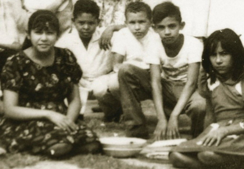 . Venezuela\'s President Hugo Chavez (C) is pictured with his friends during his school years in his hometown Sabaneta, in the state of Barinas in this undated handout provided by Ministry of Information and Communication. REUTERS/Ministry of Information and Communication/Handout
